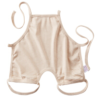 婴儿肚兜连腿夏季宝宝夏装新生儿肚兜连脚初生宝宝护脐带彩棉