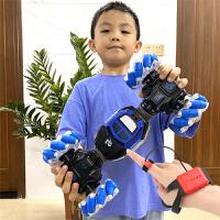 儿童手势感应特技扭变车充电动遥控汽车玩具遥控车男孩四驱攀爬车