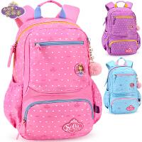 小学生书包女童1-3-4年级女孩6-12岁儿童休闲双肩背包