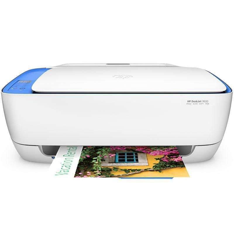 惠普(HP)3638彩色喷墨照片打印机家用办公多功能复印扫描一体机 超3548购机送相片纸,购买套餐送墨水