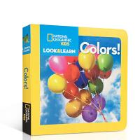 英文原版绘本 National Geographic Kids Look and Learn Colors 美国国家地