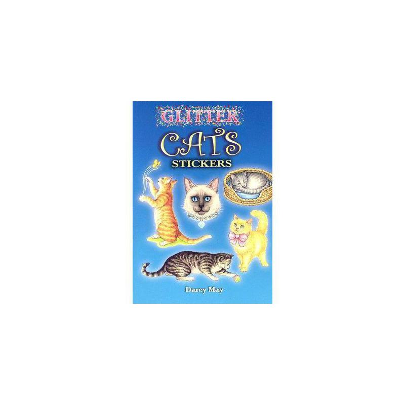 【预订】Glitter Cats Stickers 美国库房发货,通常付款后3-5周到货!