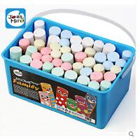 美乐 joanmiro 儿童粉笔彩色 无尘粉笔52支装 画板/黑板用