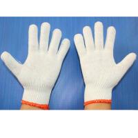 劳保手套棉花纱线手套劳保用品手套耐磨防滑防护劳动保护批发