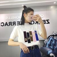 2018春季新款韩版套头半高领短袖显瘦百搭针织衫女宽松上衣