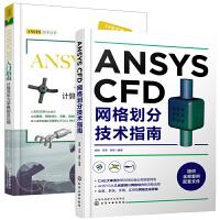 【全2册】正版书籍 ANSYS CFD网格划分技术指南+ANSYS CFD入门指南 计算流体力学基础