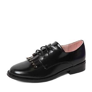 BASTO/百思图春季专柜同款牛皮女单鞋TM222AM6