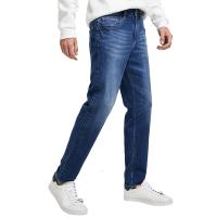 【网易严选 1件3折】男式休闲宽松牛仔裤