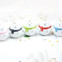 「北极熊包挂」小熊公仔包包挂女士韩国创意陶瓷钥匙链可爱卡通熊