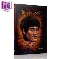 【中商原版】Who Was 系列 谁是李小龙 Who Was Bruce Lee 儿童人物传记科普文学 平装 英文原版