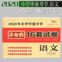 2020年小学毕业升学必做的16套试卷 语文 课堂同步练习册单元测试卷小升初检测卷