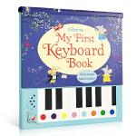 我的键盘书 英文原版儿童启蒙 My First Keyboard Book 钢琴发声书 电子琴发声书 精装包含9首童谣