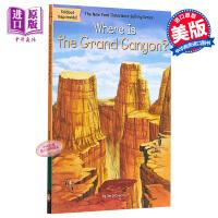 【中商原版】Where Is the Grand Canyon 哪里是大峡谷 Where Is系列 儿童科普章节书带插图