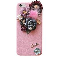 iPhone7plus手机壳女款大气苹果8保护套奢华立体6s个性diy6