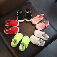 学步鞋春夏宝宝鞋子男女儿童婴儿机能鞋童鞋布鞋