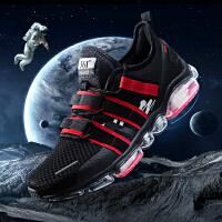【超品预估价:78】361男鞋运动鞋2020春季新款361度潮流透气防滑耐磨减震气垫跑步鞋