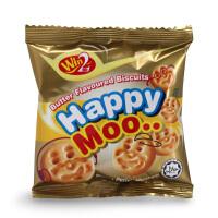 马来西亚进口零食WIN2 赢赢笑脸小饼干120g儿童休闲小零食