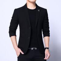 秋季休闲西服男士商务修身外套韩版潮流小西装男上衣青年帅气单件