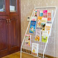 儿童书架铁艺书柜绘本架书架宝宝幼儿书报架
