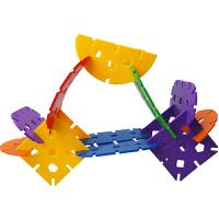 立体插花儿童塑料拼插拼装桌面积木玩具3岁以上