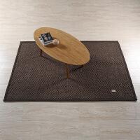 剑麻地毯客厅卧室茶几阳台床边地毯可定制榻榻米垫草编大纹路