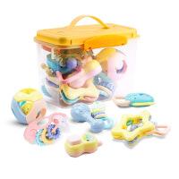 新品儿童摇铃婴幼儿玩具升级床铃球铃B225挂铃收纳桶