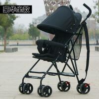 超轻便折叠婴儿推车可坐可躺婴儿车简易伞车宝宝四轮手推车儿童车k3
