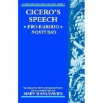 【预订】Cicero's Speech Pro Rabirio Postumo