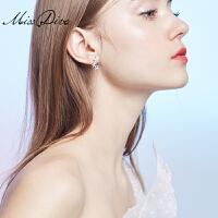 适合短发的耳环女气质个性百搭星星耳钉简约海星耳饰品