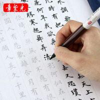 小楷毛笔字帖书法入门楷书临摹线装书佛经练习描红宣纸