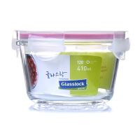 GlassLock 三光云彩 韩国进口 钢化玻璃扣 保鲜盒 碗 RP752 容量410ML
