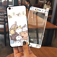 vivoy66手机壳女款潮韩国vivoy67全包l个性创意y51硅胶软壳a可爱