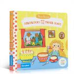 英文原版绘本First Stories BUSY系列童话篇Goldilocks and the Three Bears