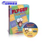 苍蝇小子英文原版绘本 Fly Guy Phonics Boxed Set 12册盒装 附CD 自然拼读
