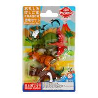 IWAKO ER-BRI044 岩泽趣味橡皮 儿童卡通可爱橡皮创意文具 .恐龙当当自营
