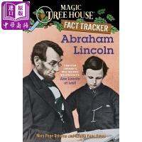 【中商原版】神奇树屋小百科25 阿伯拉罕林肯 Magic Tree House Abraham Lincoln