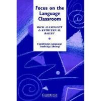 【预订】Focus on the Language Classroom: An Introduction to