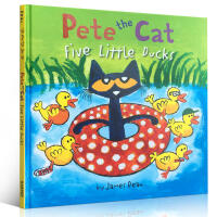 英文原版 Pete the Cat皮特猫系列Pete the Cat: Five Little Ducks 4-8岁宝