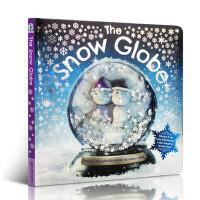 【全店300减100】英文原版 The Snow Globe 雪球 Merry Christmas 圣诞节绘本 3-6岁