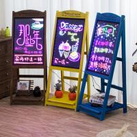 led电子荧光板广告板发光小黑板广告牌展示牌银萤闪光屏手写字板礼品