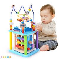 儿童玩具6-12月早教串珠1-2周岁男女孩绕珠百宝箱宝宝积木