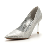 D:Fuse/迪芙斯秋商场同款尖头高跟浅口单鞋女DF81111113