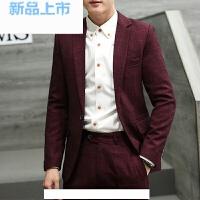 西服套装男士三件套夏季韩版小西装商务职业正装新郎伴郎结婚礼服