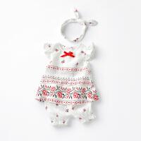 【开学季1件3折:49元】女童夏装2020新款套装时髦可爱婴儿两件套女宝宝夏季网红洋气衣服