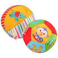 儿童手抓球布球铃铛球类玩具6-12个月宝宝摇铃