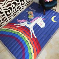 布质婴儿爬爬垫儿童游戏垫地垫毯客厅卧室加厚防滑宝宝爬行垫 145*195cm