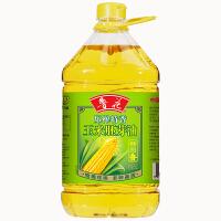 鲁花物理压榨玉米油5L 非转基因 食品 压榨食用油