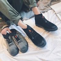 DAZED CONFUSED 潮牌 冬季潮鞋青少年休闲鞋男高帮板鞋个性潮鞋拼接加厚男鞋