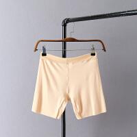 夏季新款 大码女装胖MM高弹无痕纯色防走光打底裤塑身提臀安全裤