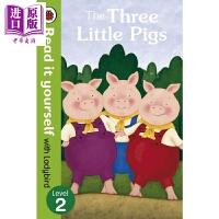 【中商原版】小飘虫独立阅读系列:三只小猪The Three Little Pigs 独立阅读 分级读物 故事书 亲子绘本